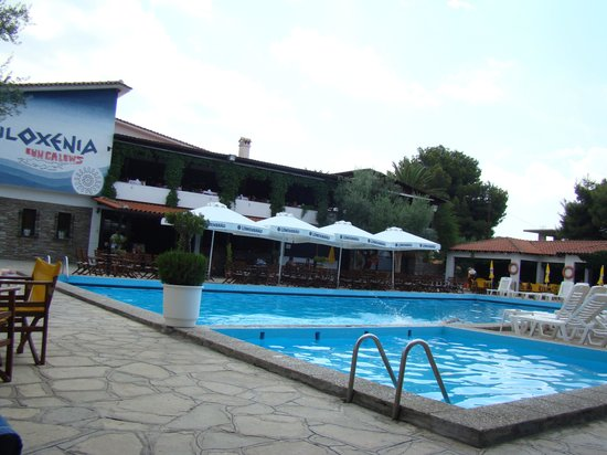 Psakoudia, Griechenland: the pool