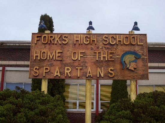 Fishermans Widow Bed & Breakfast: The actual Forks High School