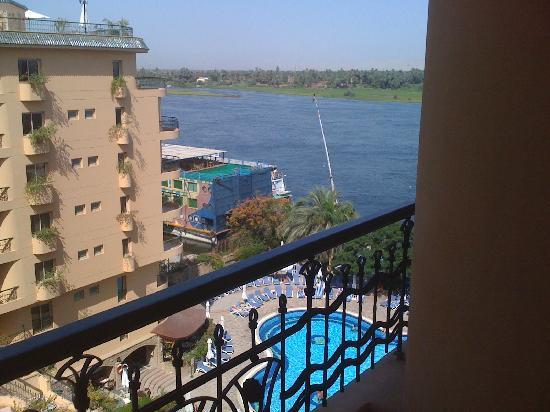 Steigenberger Nile Palace Luxor: View from 5th floor room