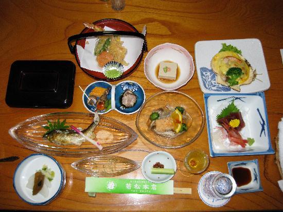 Wakamatsu Honten: Delicious dinner