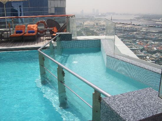 Rooftop Pool Picture Of Hilton Dubai Creek Dubai