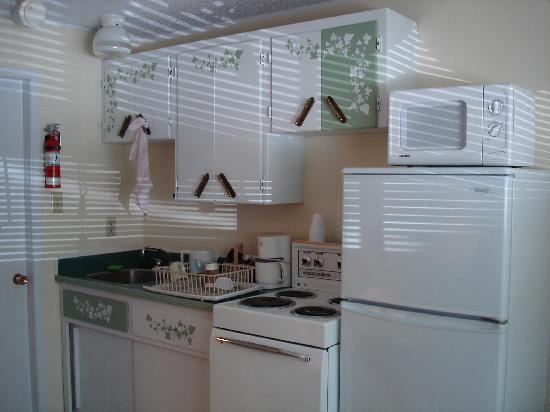 Pass Motor Inn : kitchen