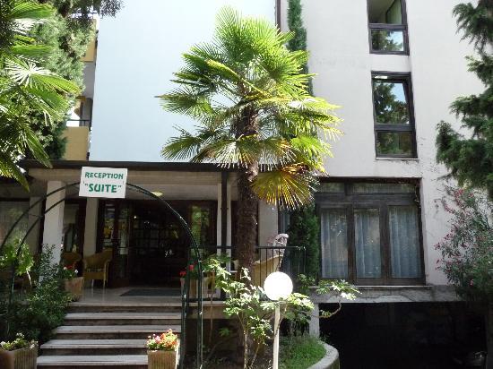 Hotel Palme & Suite: Suite reception