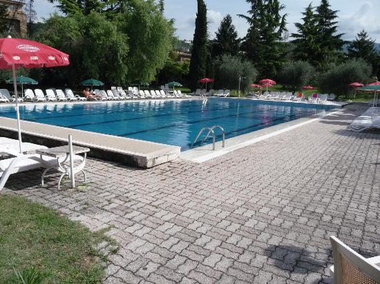 Hotel Palme & Suite: Pool area