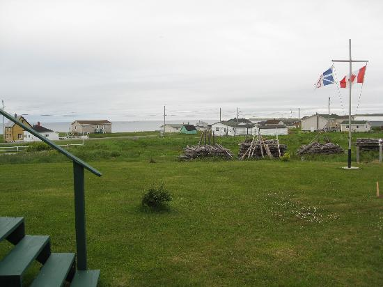 Bonavista, Canada: backyard view