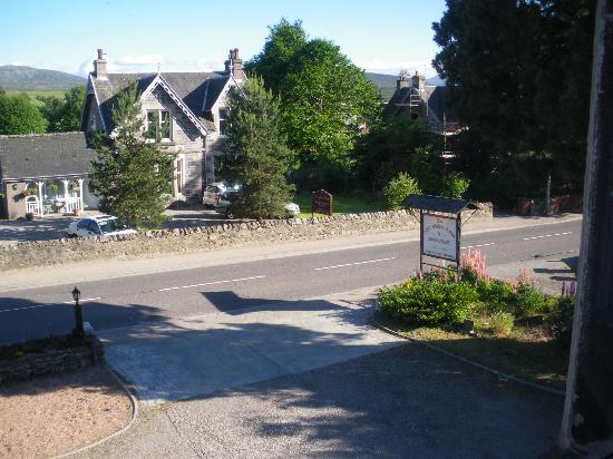 The Scot House Hotel and Restaurant: View from our window
