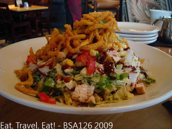 BJ's Restaurant & Brewhouse: BBQ Chicken Chopped Salad