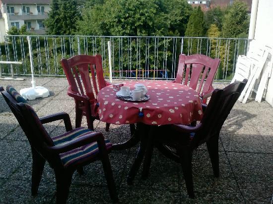 Gaestehaus Spieker: balcony
