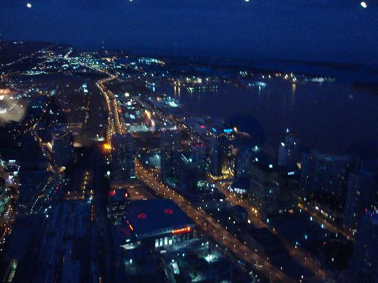 360 The Restaurant at the CN Tower: view at night