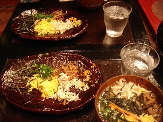 Thida Moon: 夕食2(鶏飯)
