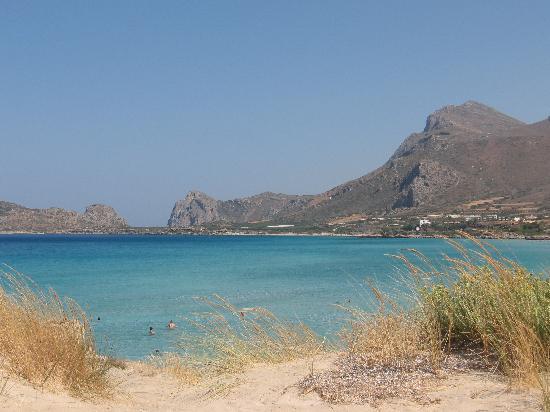 Kissamos, Grecia: Spiaggia di Falasarna