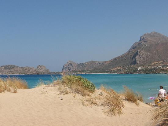Dune di sabbia a Falasarna