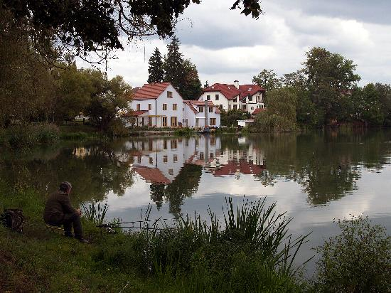 A peaceful scene at Jindrichuv Hradec