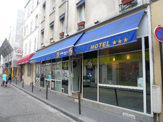 Le 55 Montparnasse Hotel The Unassuming Facade Of