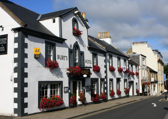 Melrose, UK: Burts Hotel
