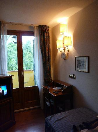 Hotel La Lanterna: Chambre 1 personne, très cosy...