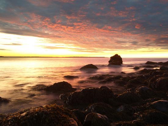 Gallery Guest House B & B: Sunrise on the beach
