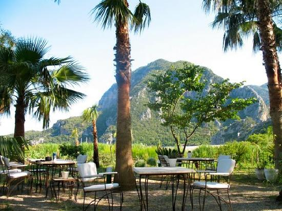 Olympos Lodge: Where you eat breakfast every morning