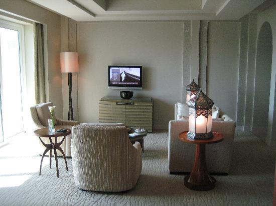 Park Hyatt Dubai: Wohnzimmer