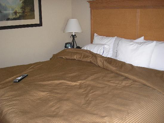 Glenwood Suites: King bed in separate sleeping area