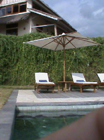 Segara Villas: notre villa avec la piscine