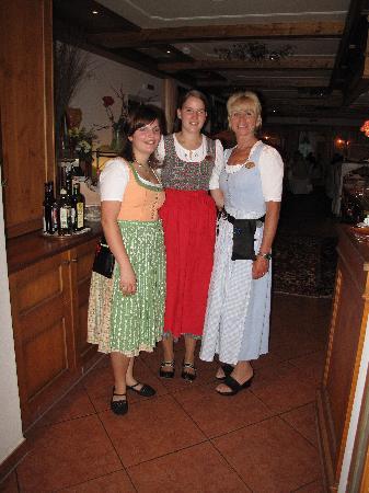 Hotel Alpenblick : 3 of the wonderful staff