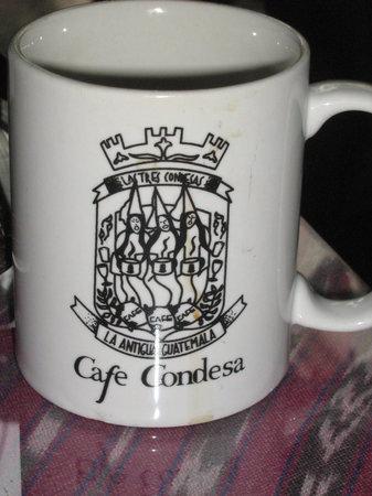 Las tazas del Cafe Condesa