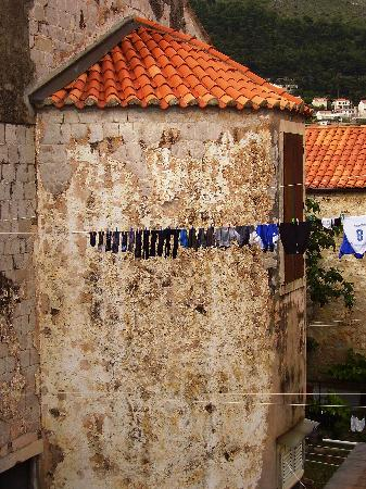 Dubrovnik Bed and Breakfast : View from the Old Town ramparts