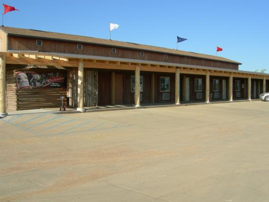 Belfield, ND: it's a truck stop with rooms
