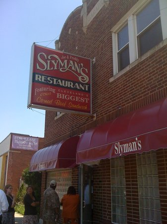 Photo of American Restaurant Slyman's Deli at 3106 Saint Clair Ave Ne, Cleveland, OH 44114, United States