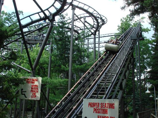 Ligonier, PA: Wild Mouse on the lift