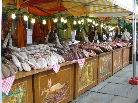 Victoria Lodge : Market stall in Chester