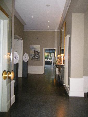Hotel Montanus: l'entrée
