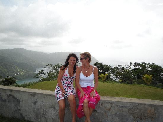 Manta Lodge: Marianne and I