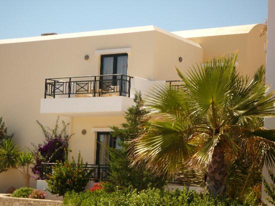 Ostria Resort & Spa : notre chambre