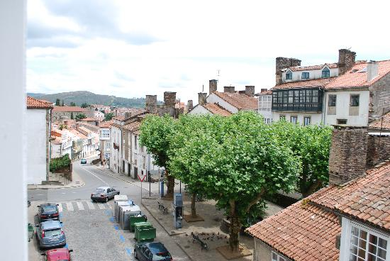 Hotel Fonte De San Roque : The view from our window.