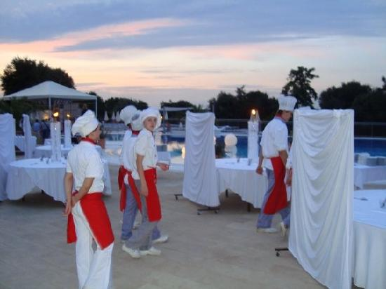 Valamar Club Tamaris: staff