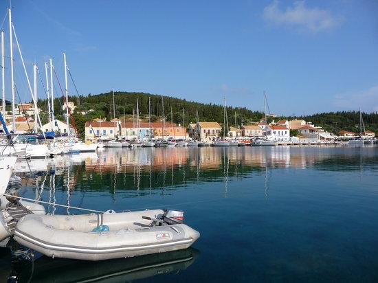 Kefallinia, Hellas: Fiskardo Hrbour