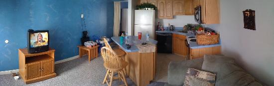 Ocean Air Properties: This was the room we stayed in