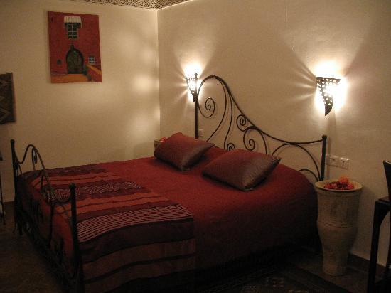 Riad Attarine: Chambre Cannelle