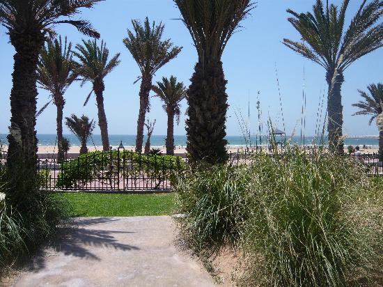 Club Med Agadir : chemin plage
