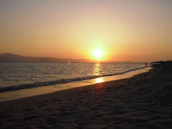 Plaka Beach,Naxos.Sunset-July 2009