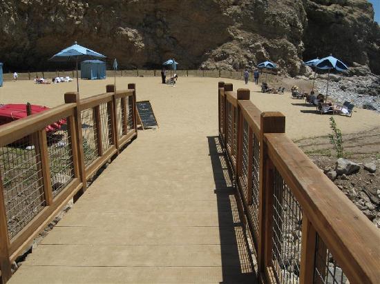 Terranea Resort: Private / Public Beach