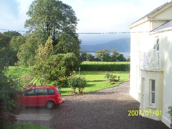 Carriglea House: View from our room of Lough Leane