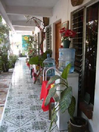 Villa Lupita: el pasillo