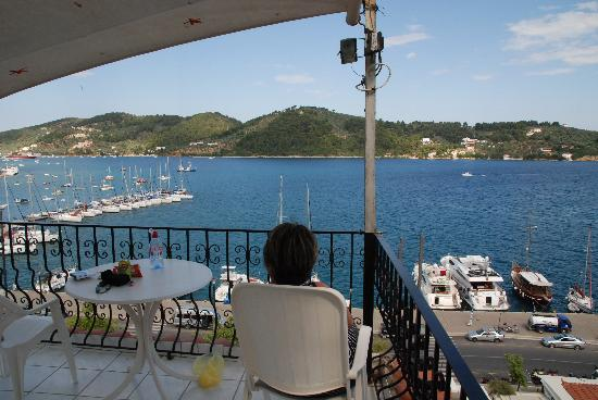Sotos and Maria: terrace and view