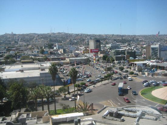 Real Inn Tijuana: view from balcony