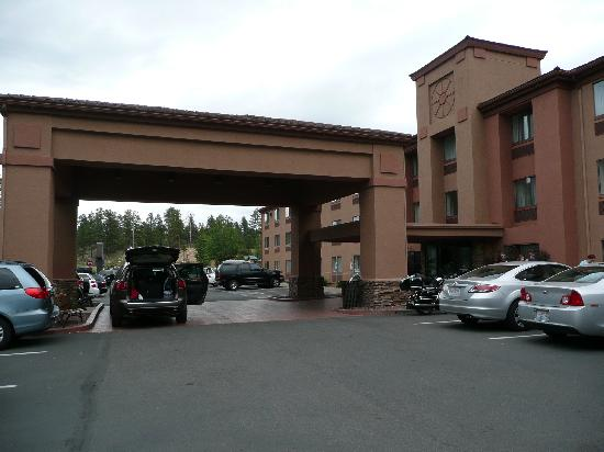 grand canyon holiday inn express:
