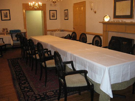 Bridgetown Mill House Restaurant & Inn: Private Event Room