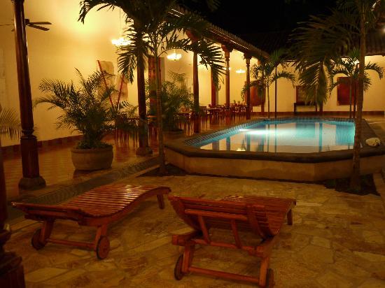 Hotel La Bocona: The spa area